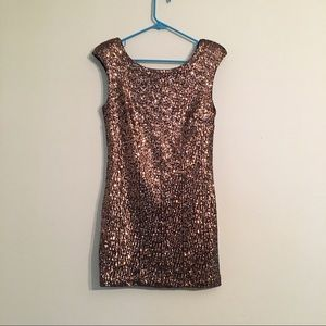 Mink Pink for Urban Outfitters Sequin Dress